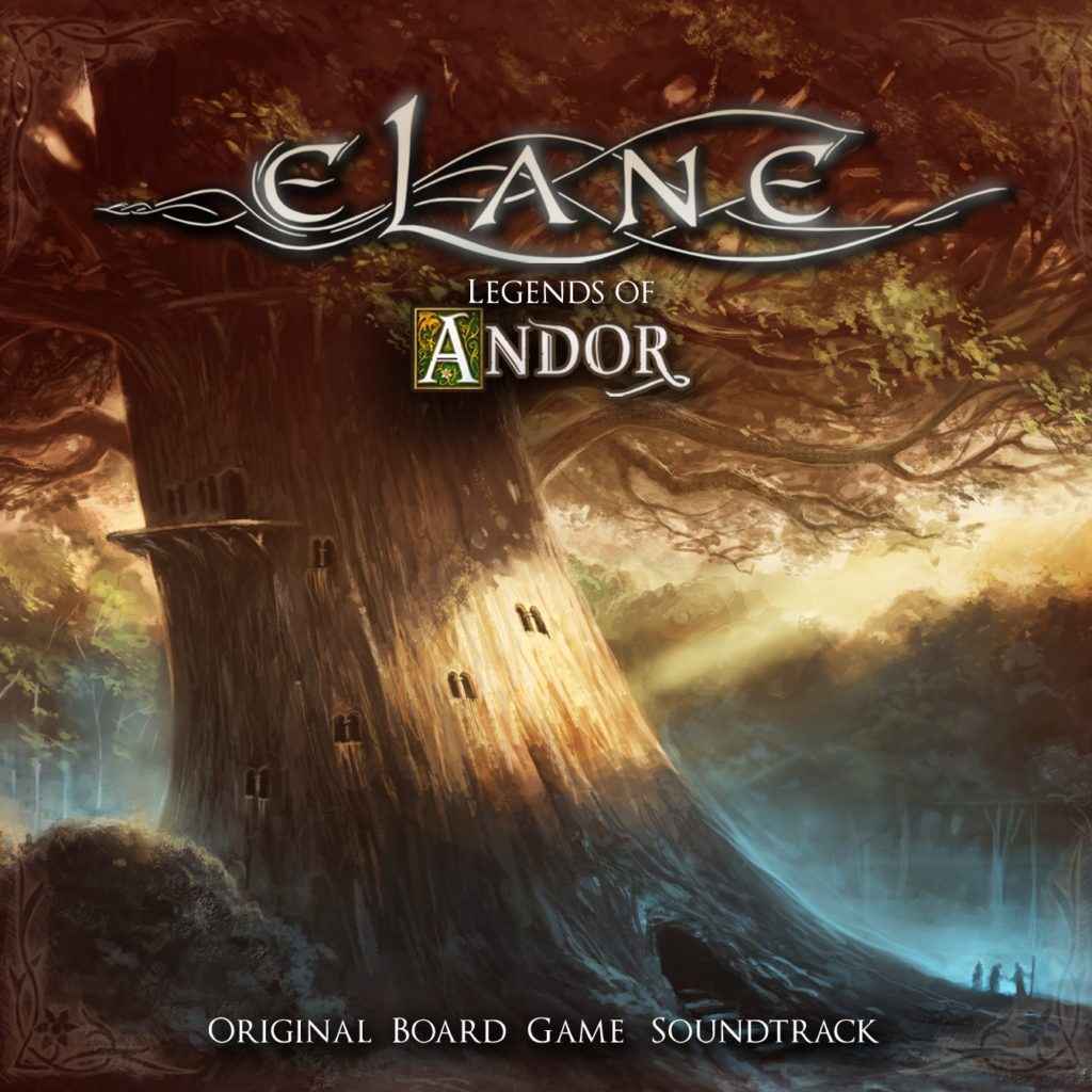 Legends of Andor – Original Board Game Soundtrack CD (Album 2019)